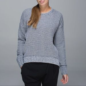 Lululemon Inkwell Yogi Crew Sweater